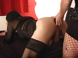 Two crossdressers and their mistress part 1 of 3