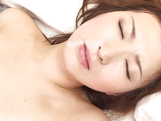 Asian Babe Cute Japanese Swallow