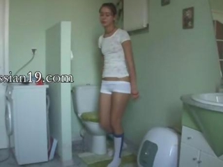 Russian Teen Toilet