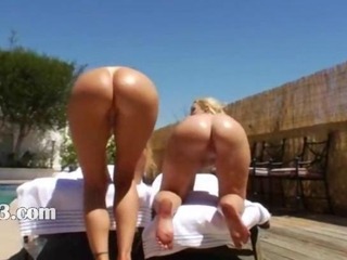Ass Outdoor Pool Teen
