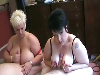 Big Tits Groupsex Handjob  Natural Tattoo Tits job