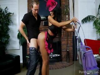 The Worlds Hottest Housemaid Lela Star