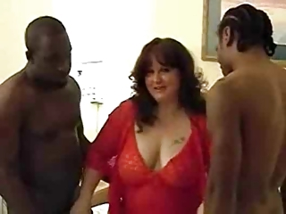 Amateur  Big Tits Interracial Lingerie  Natural  Threesome Wife