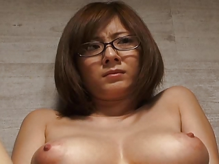 Asian Glasses Japanese  Natural Nipples Teacher