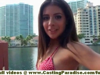Jynx Maze stunning brunette teen latina girlfriend with..