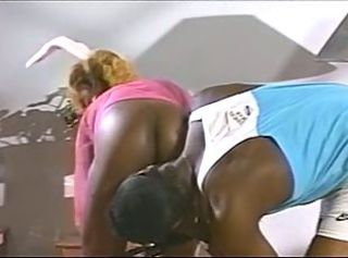 Ass Ebony Vintage
