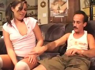 Babysitter Daddy Daughter Old and Young Teen