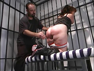 Spanked In The Slammer!!!!!!!