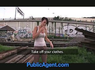 PublicAgent Great Tits and Great Ass and Great Fuck