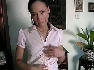 Petite girlie with small tits looks yummy and hot