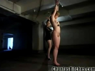 Teen in Extreme Lesbo BDSM