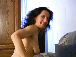 Brunette MILF Older SaggyTits