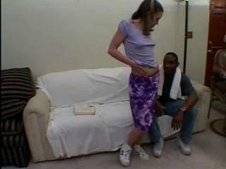 Interracial Stripper Teen