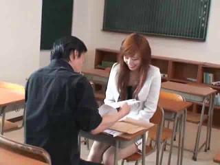 Asian Japanese Pornstar School Student Teacher