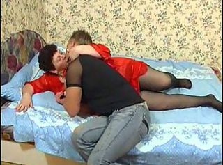 Amateur  Mature Mom Old and Young Stockings