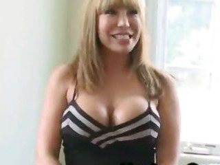 Huge boobs blonde fucked by huge black dicks