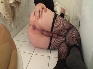 Forced sissy boy butt farting