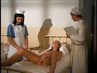 Nurse masturbates in front of her patient tubes