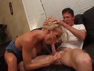 BJ and titjob from horny bimbo slut tubes