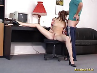 Blowjob Flexible Teen