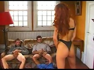 Ass Lingerie Threesome Vintage