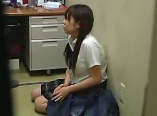 Asian Student Teen Uniform Voyeur