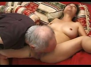 Asian Japanese Licking Mature Older