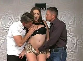 Busty Russian Teen Marina gets some DP