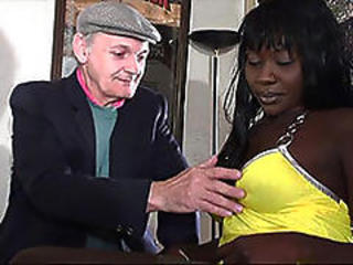 Ebony Interracial Mature Older