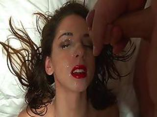 Bukkake Cumshot Cute Facial Teen