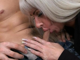 Mature Russian Blowjob Small cock Mom Old and Young