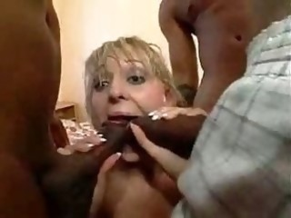 Blowjob Gangbang Interracial Teen