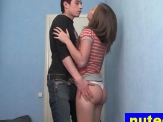 Awesome Horny Teen Getting Face Fucked