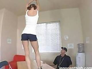 Sasha Rose Gets A Creampie At Th...