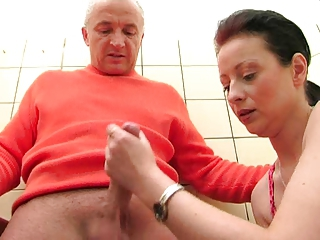European German Handjob
