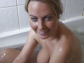 Amateur Bathroom Big Tits Girlfriend Natural Pov