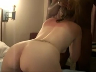 Whore White Wife Fucks 2 BBCs - Cuckold