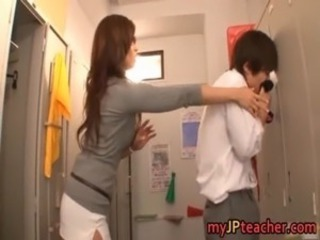 Asian Japanese Teacher Teen