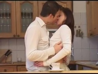 European Kissing Kitchen Teen