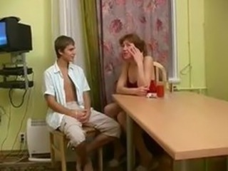 Kitchen Mature Russian Wife