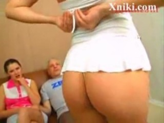 Old guy fucks two young russian girls - Xniki.com free