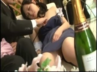 Asian Bride Drunk Teen