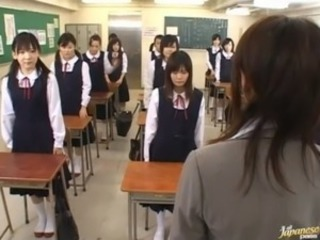 Asian Japanese School Teacher Teen