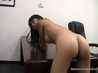 Ass Casting Ebony Teen