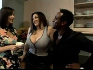 Omar Respecting Big Boobs Brit Babe Cathy Barry And Friend easy