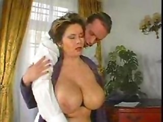 Busty lady's titties dance when fucked