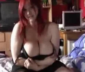 Amateur Big Tits Chubby Girlfriend Homemade Natural Pov Redhead Stripper