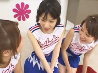 Japanese schoolgirls facial