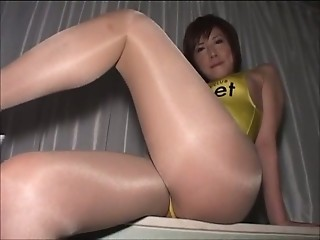 Asian Japanese  Pantyhose Uniform