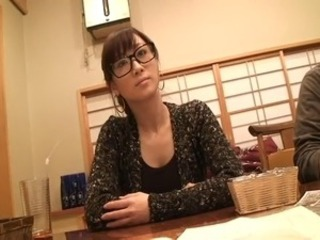 Asian Cute Glasses Teen